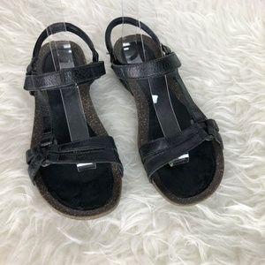 6c68d9593675 Teva Shoes - Teva 4254 Ventura Cork 2 Rialto Sandal Black Sz 9